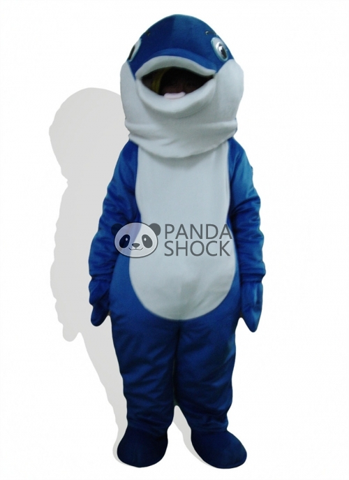 sc 1 st  Panda Shock & Cute dolphin animal mascot costume for adult